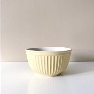 Williams-Sonoma Pale Yellow Mixing Bowl